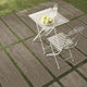 outdoor tile / for floors / porcelain stoneware / patterned