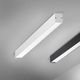 surface mounted light fixture / recessed ceiling / LED / linear