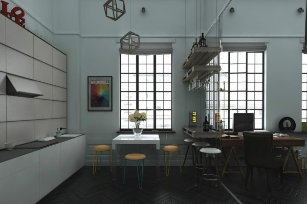 3 distinctly themed apartments under 800 square feet 75 square meter with floor