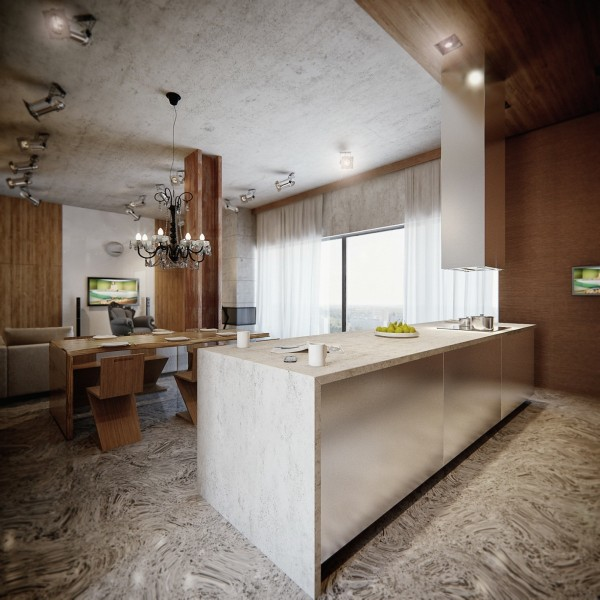 3 gorgeous apartment interiors in rich warm tones