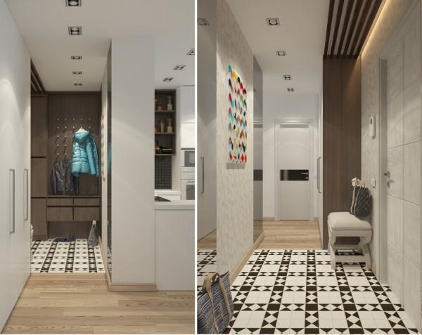 5 Apartment Designs Under 500 Square Feet Russia