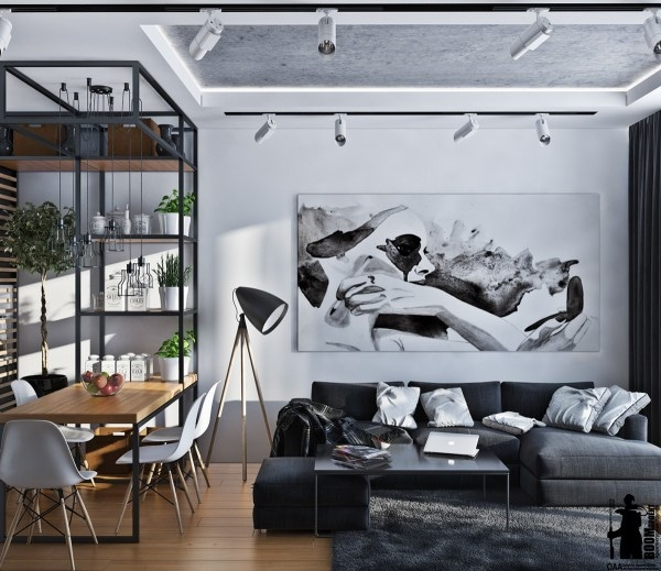 Artistic Apartments with Monochromatic Color Schemes - Odessa Oblast ...