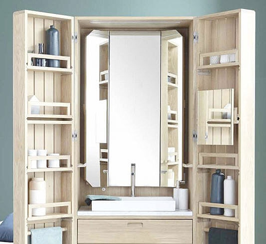 The bathroom cupboard- Bathroom furniture Line ART