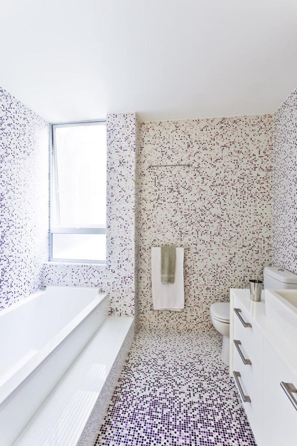Bathroom Tile Idea Use The Same Tile On The Floors And The Walls