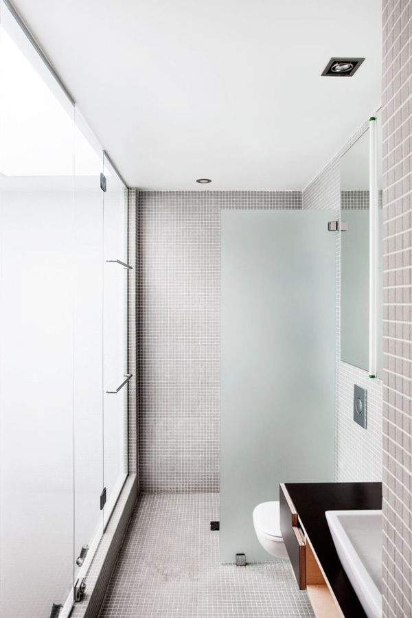 Bathroom Tile Idea – Use The Same Tile On The Floors And The Walls