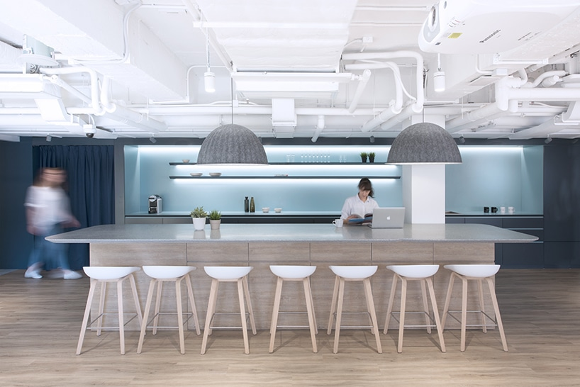 Bean buro evokes local urban life in ubers hong kong office hong kong