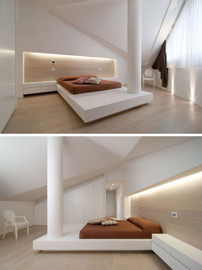 bedroom design idea u2013 place your bed on a raised platform