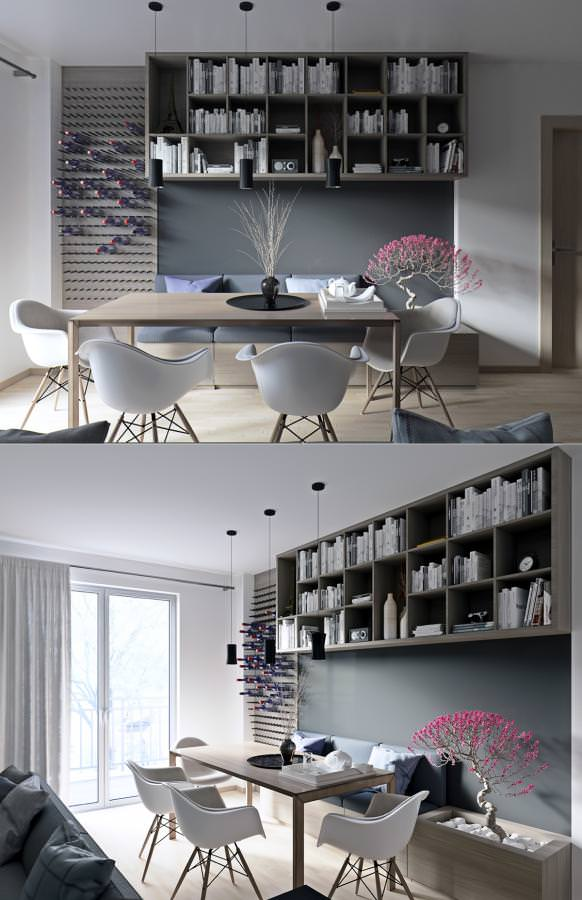 break bread in beauty modern dining rooms for inspiration - Home ...