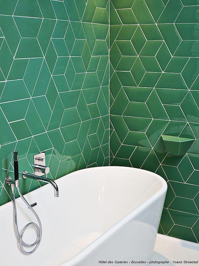 Ceramic Tiles Diamond Trapezium 2d 3d Normandy Ceramics