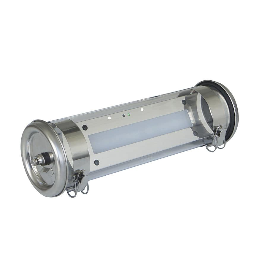 COULOMB BAEH selfcontained tubular LED luminaire for emergency