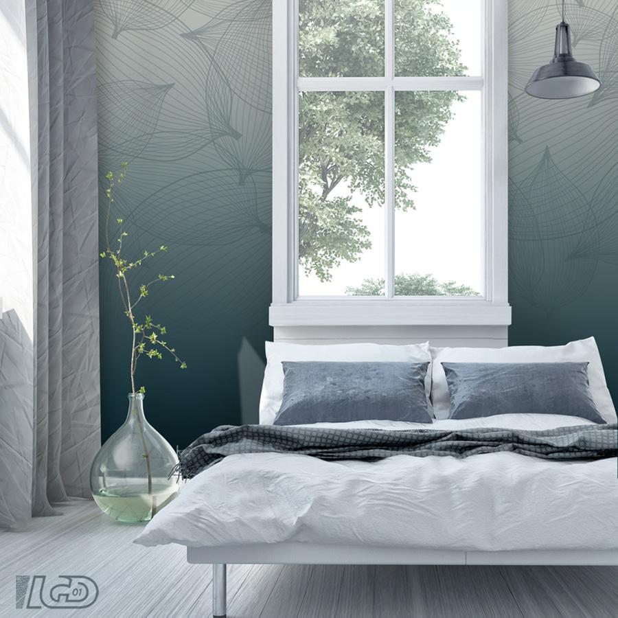 Custom wallpaper TIE and DYE   01100 Bellignat, France   LGD01