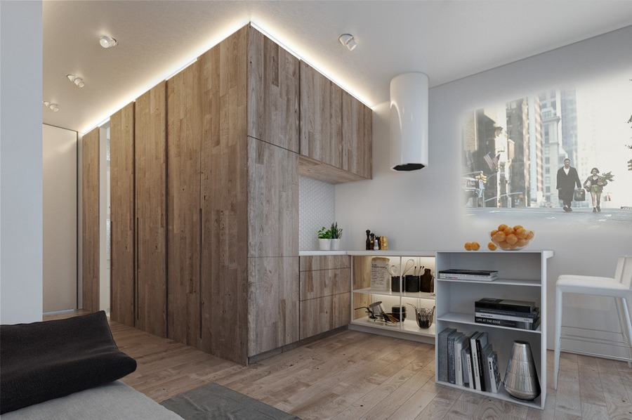 Designing For Small Spaces Beautiful Micro Lofts Ukraine - Designing for small spaces 3 beautiful micro lofts
