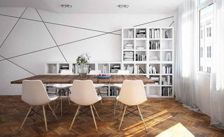 ultra modern interiors. Dining Rooms That Mix Classic And Ultra-Modern Decor Ultra Modern Interiors L