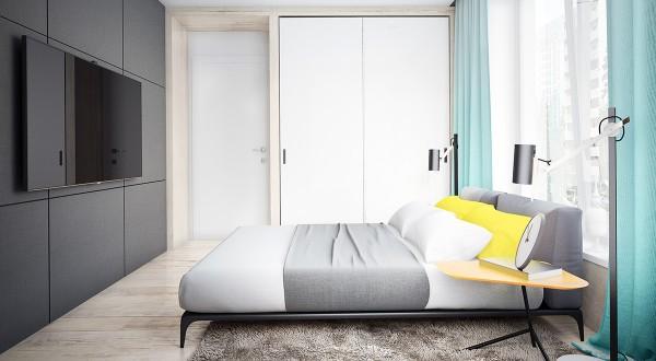Four interiors by juliya butova