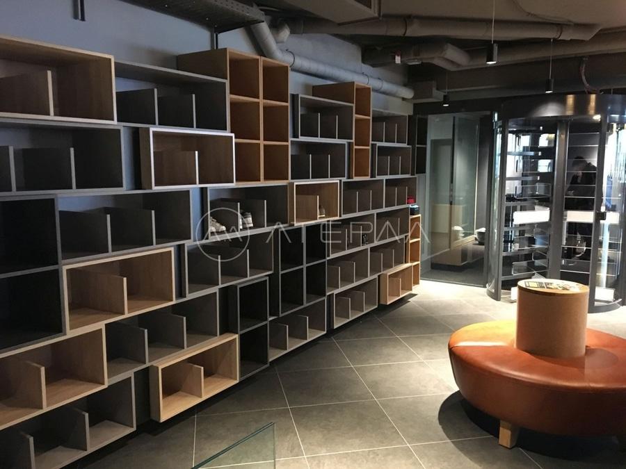 Furniture in design gym