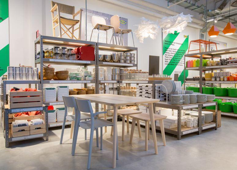 Ikea Temporary presents kitchen concepts at Milan popupMilan