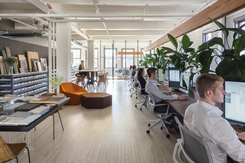 Inc architecture design their own office in new york new york