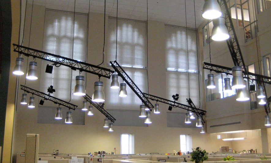 Industrial Led Cfl Metal Halide Low Bay Pendants