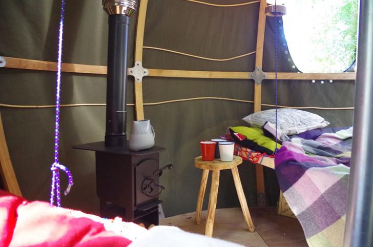 Dovre stoves burning wood