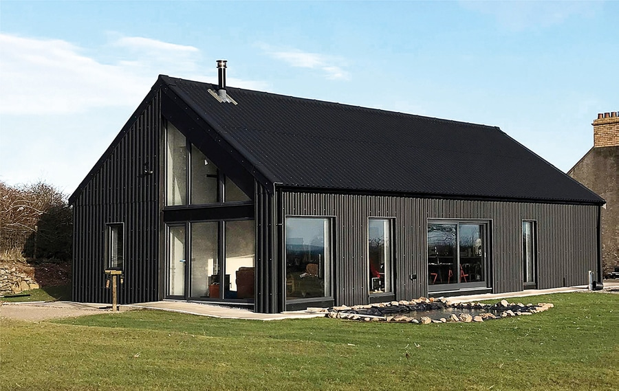 Metal Clad Eco Cottage Puts A Modern Spin On Irish Rural