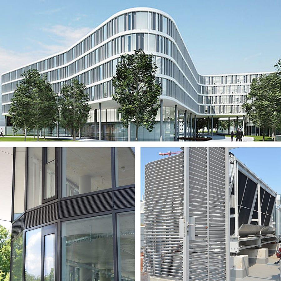 MLL ventilation grids adapt to every building form - MLL-Hamburg