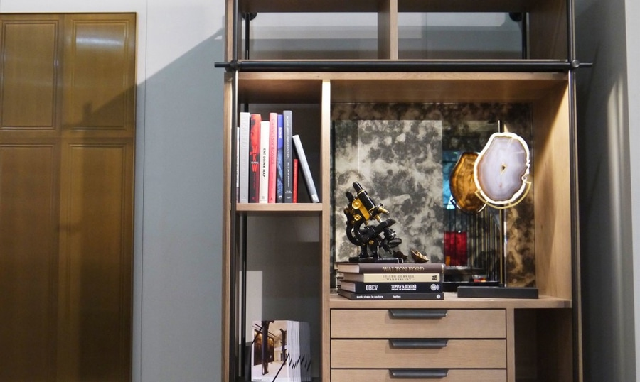 Modular Amuneal Shelves Create Flexible Wall Storage For Tight Spaces
