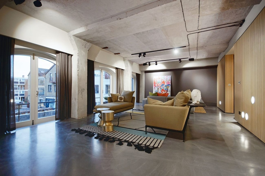 Modern Warehouse Renovation At Historic Ransomes Dock