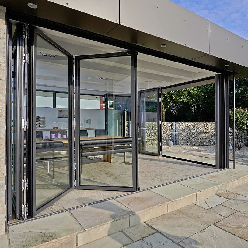 Multiple Award Winner: Folding Glass Door SL 82