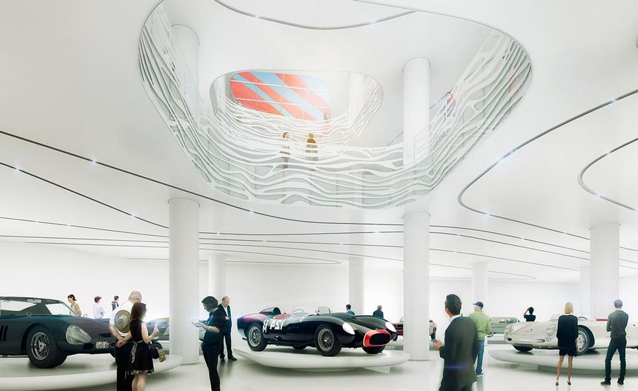 Kpf Transform The Petersen Automotive Museum In Los Angeles Los
