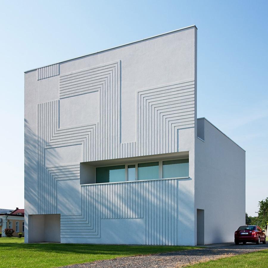 NAPUR Architect creates circuitboard pattern on facade of Super ...