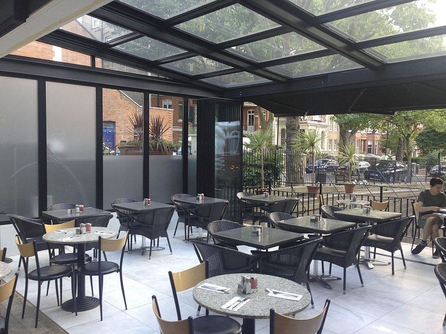 NEW: Aluminum U0026 Glass Retractable Roof By European Aluminium Systems