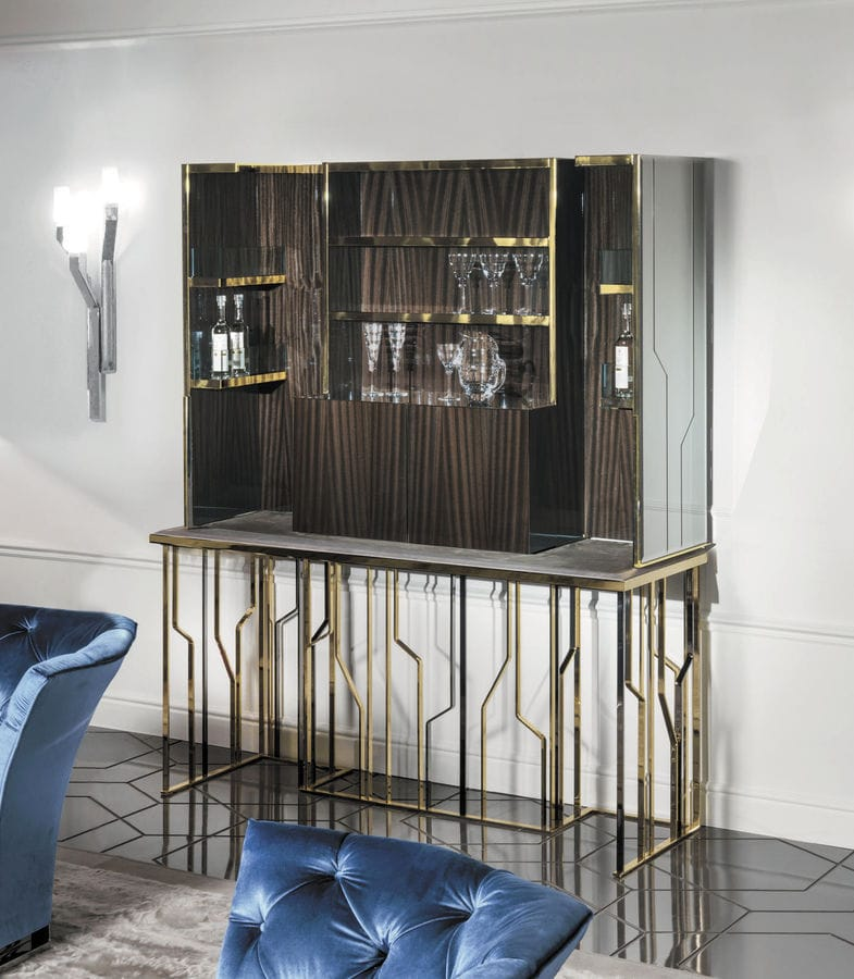 NEW: Contemporary Bar Cabinet By LONGHI