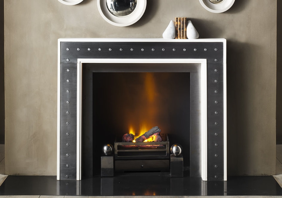 NEW: contemporary fireplace mantel by Chesney - Chesney