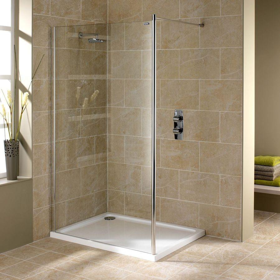 NEW: fixed shower screen by DUSCHOLUX AG - DUSCHOLUX AG