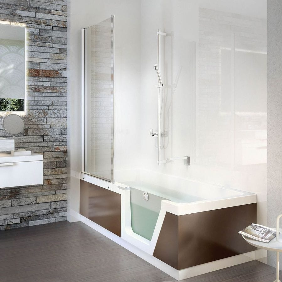 NEW: free-standing bathtub-shower combination by DUSCHOLUX AG ...