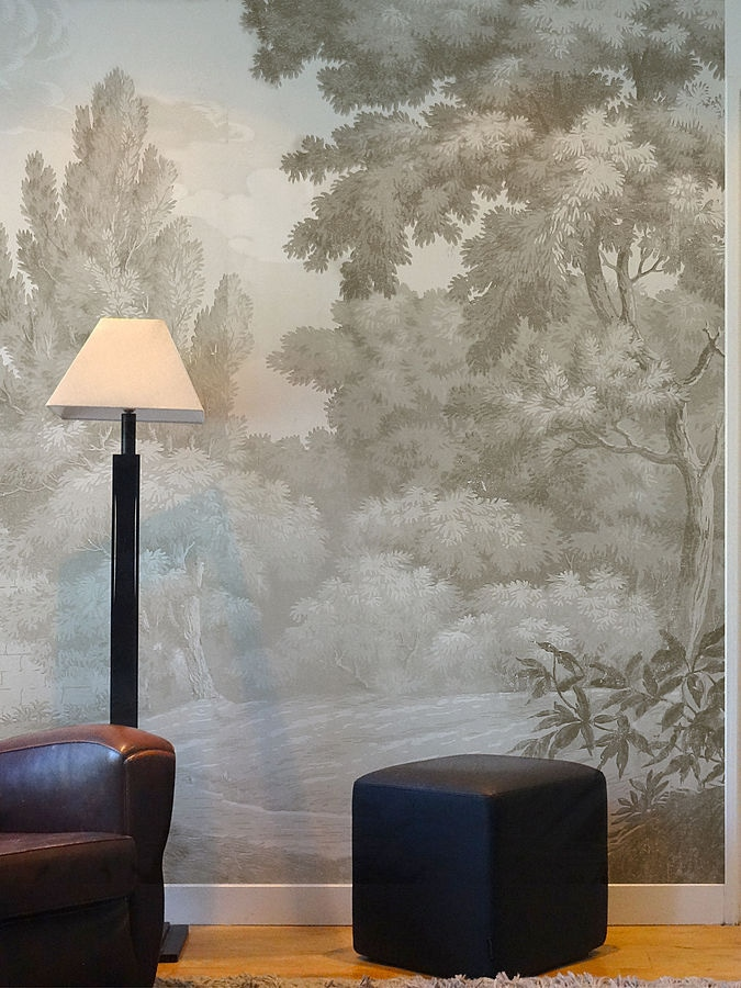 New Scenic Wallpaper Mural - Papiers De Paris