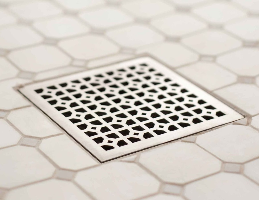 Marvelous NEW: Shower Drain Box Grate By Infinity Drain