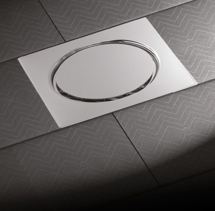 NEW: Stainless Steel Shower Drain By MIRO EUROPE SRL