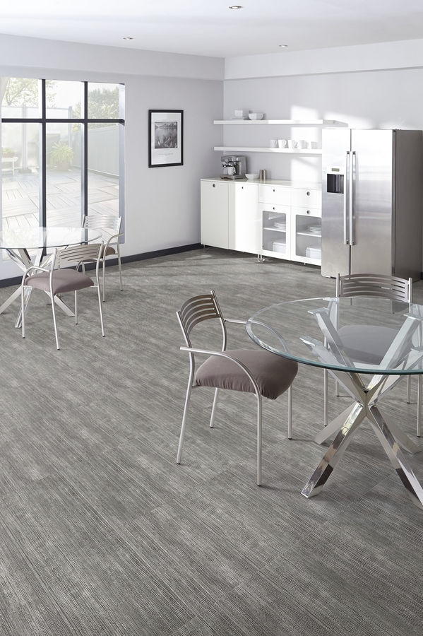 New Vinyl Floor Tile By Milliken Contract
