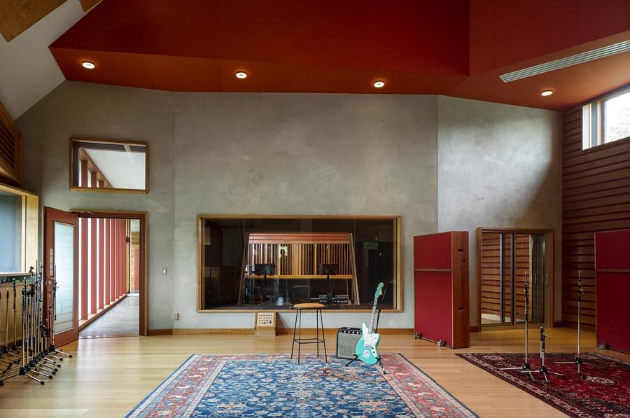 Recording Studio Interior