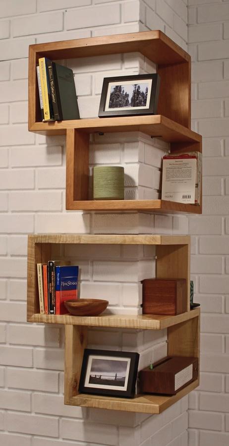 Shelving Design Idea Shelves That Wrap Around Corners 40 Main Fascinating Shelves For Corners