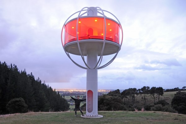 Skysphere the ultimate solar powered android controlled man cave