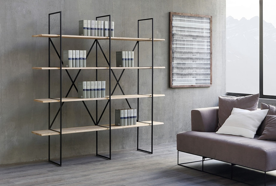 Bookcase Design Entrancing Slim Irony Bookcase Design Maurizio Peregalli  Zeus Design Inspiration