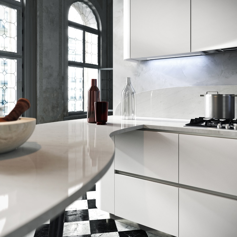 Perfect Snaidero Introduces Carbon Fibre In The Kitchen With Snaidero.