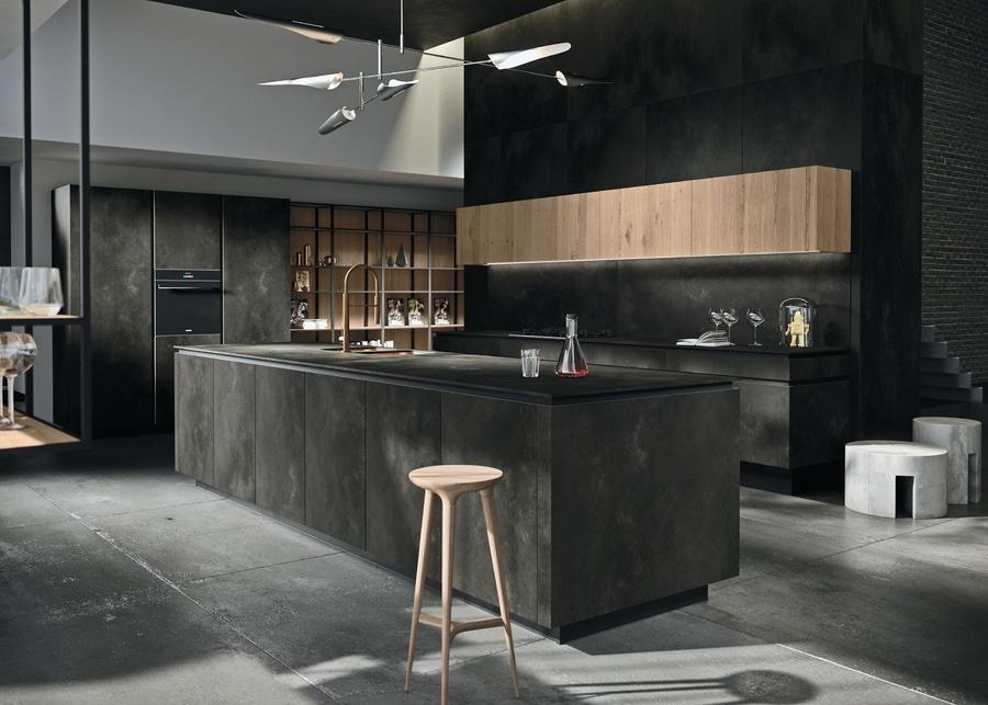 LAMINAM for the kitchen – Design: SNAIDERO - Metropolitan City of ...