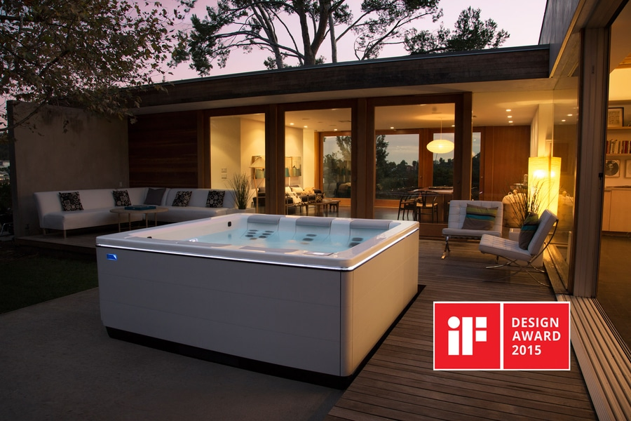 Stil A Modern Portable Hot Tub By Bullfrog Spas Wins If Design