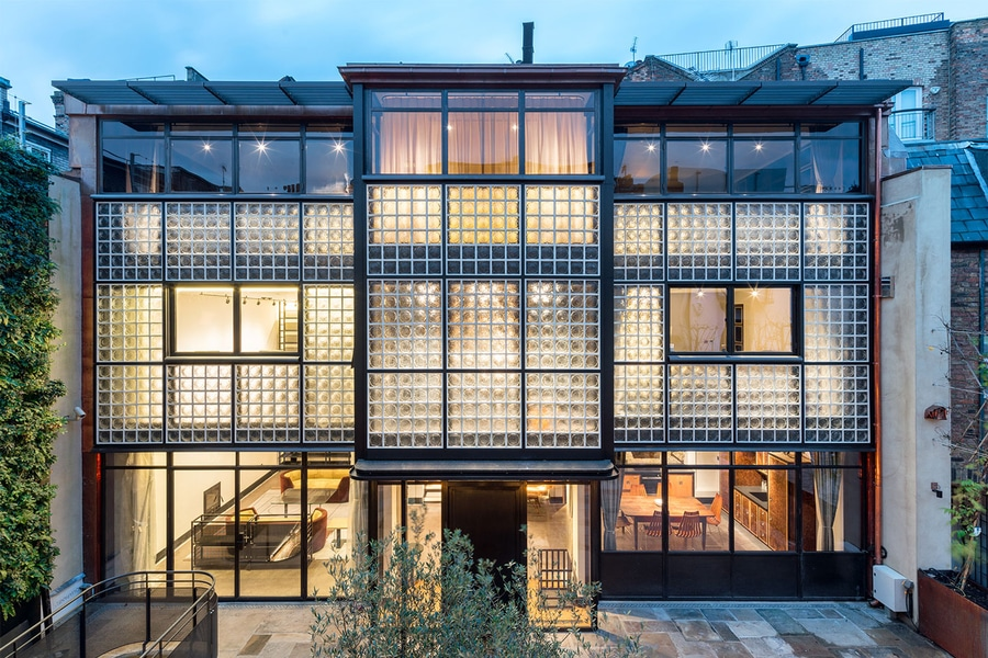 Home Homage: Londonu0027s Eglon House Is Inspired By The Maison De Verre In  Paris