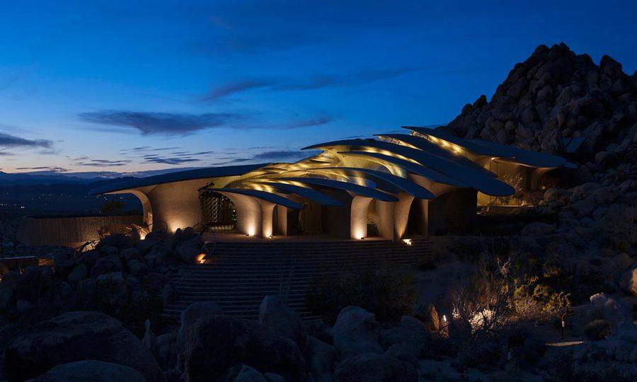 Stunning desert abode fit for a james bond villain