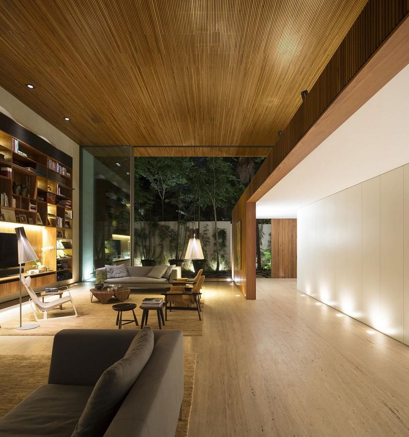 The Tetris House A Creatively Organized Modern Brazilian Home