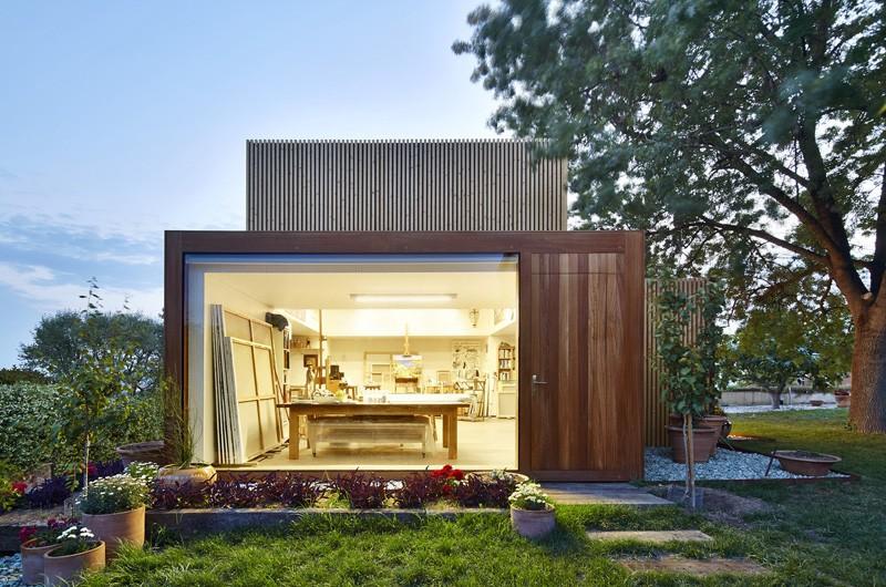 Merveilleux This Backyard Art Studio Has A Garden View